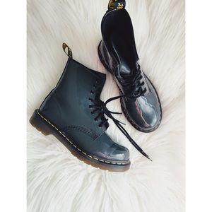 ••SOLD••Patent Leather Combat Boots • Doc Martens